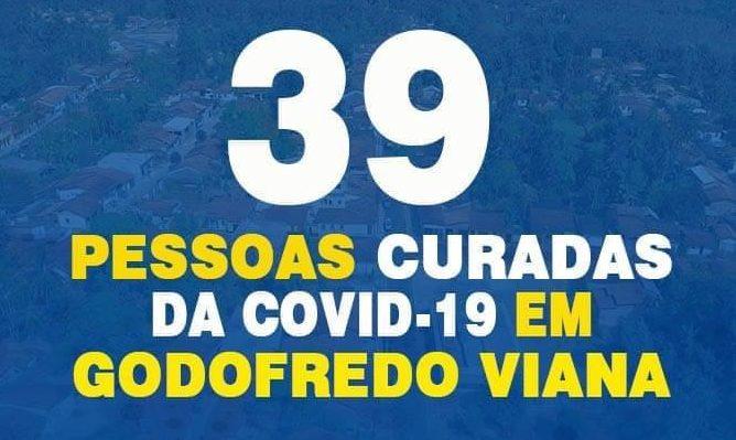 39 pessoas curadas em Godofredo Viana